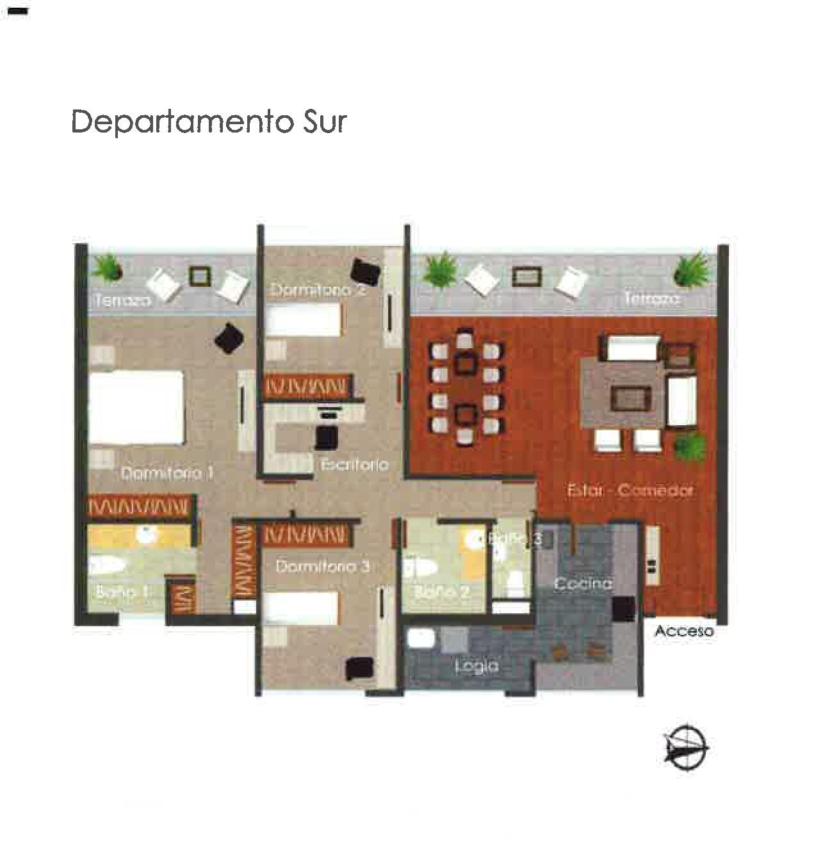Departamento Sur